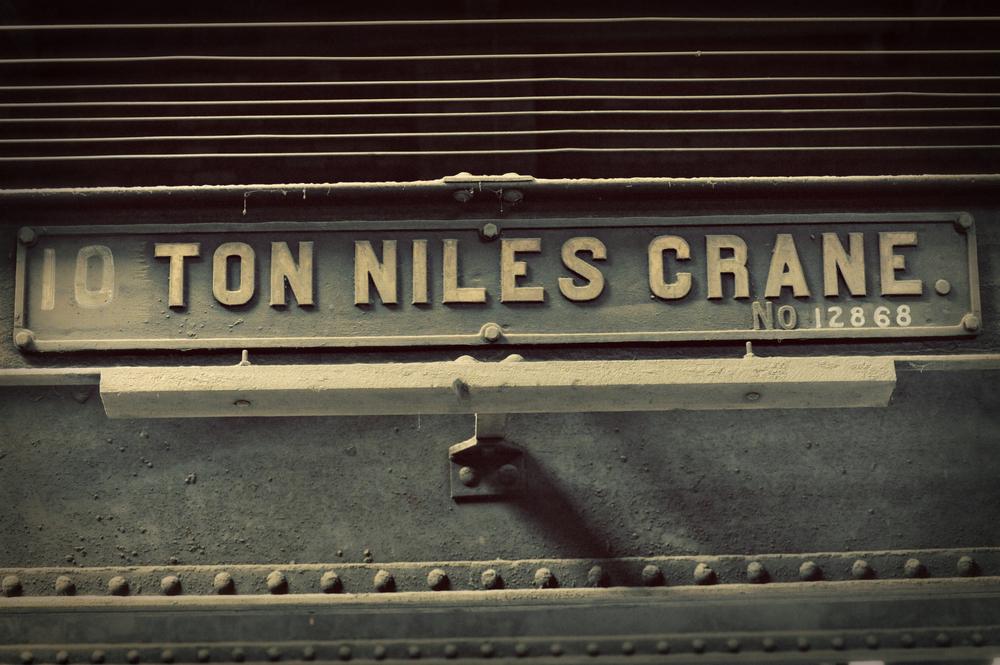 """""""10 Ton Niles Crane"""""""