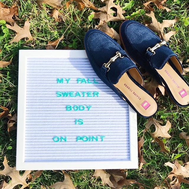 It's officially sweater weather. Are you loving the cooler temps or do you miss summer already?