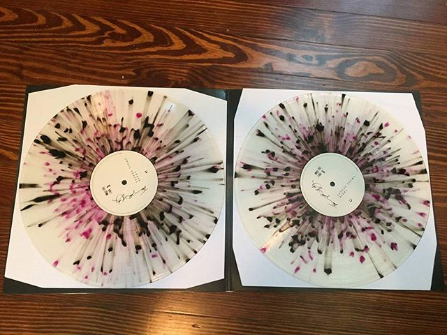 The black and purple splatter vinyl for 'These Small Spaces' are looking quite beautiful.  Grab a copy directly from @scienceofsilencerecs. Link in profile.