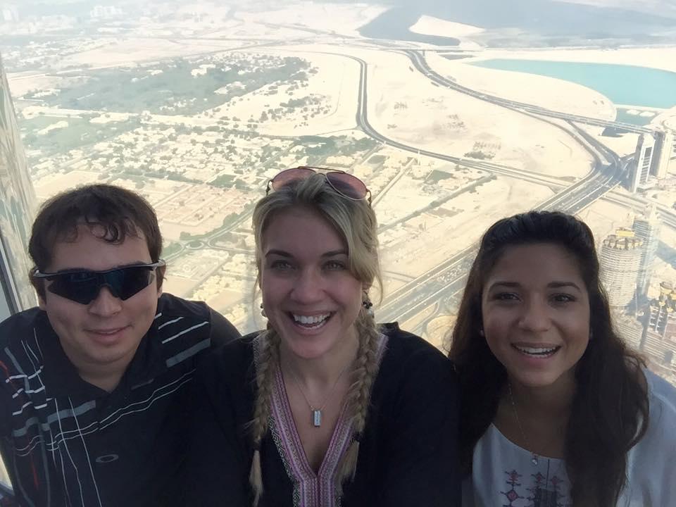 Visiting Matthew in Abu Dhabi