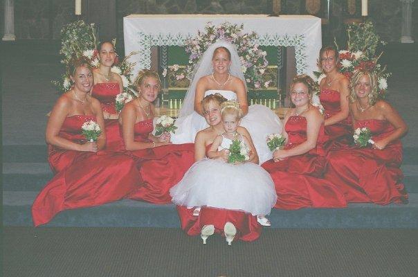 Being a bridesmaid, circa 2015.