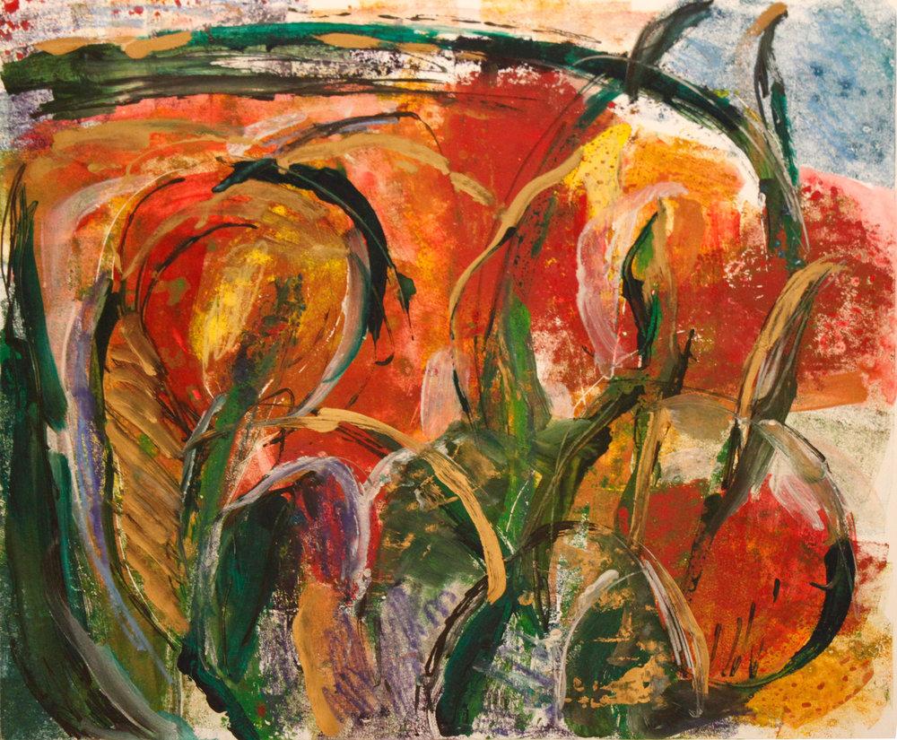 Tulips Mono#30