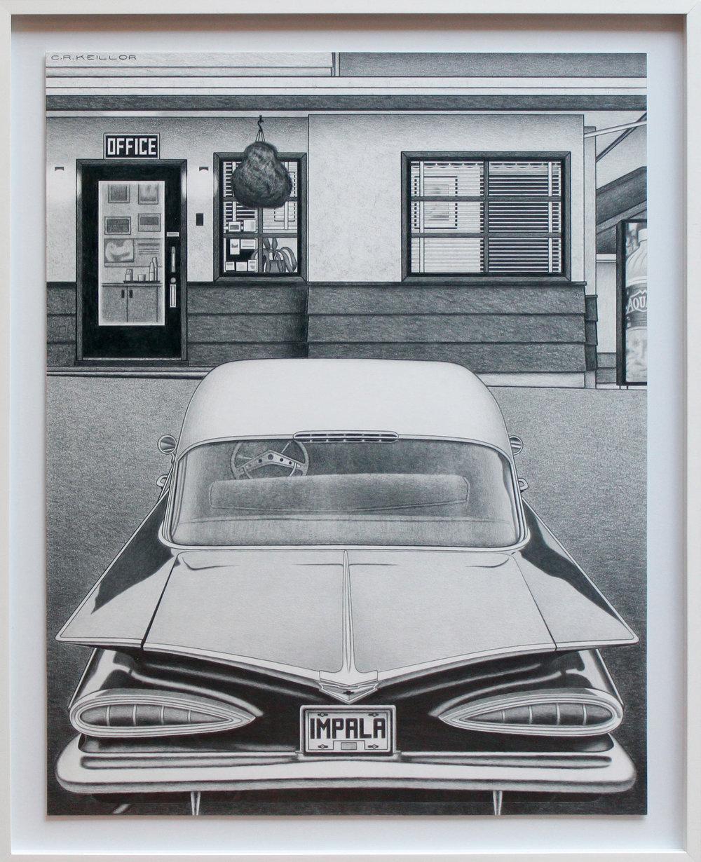 Impala (Framed)
