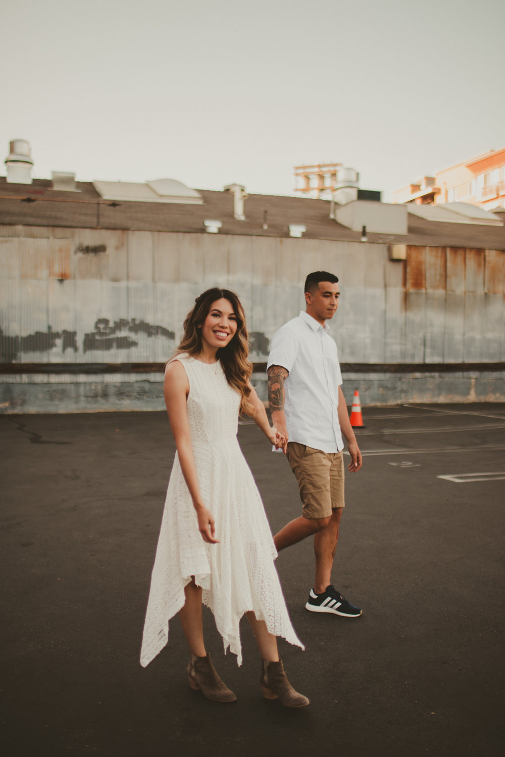 Los Angeles Arts District Engagement - Kat and Kevin
