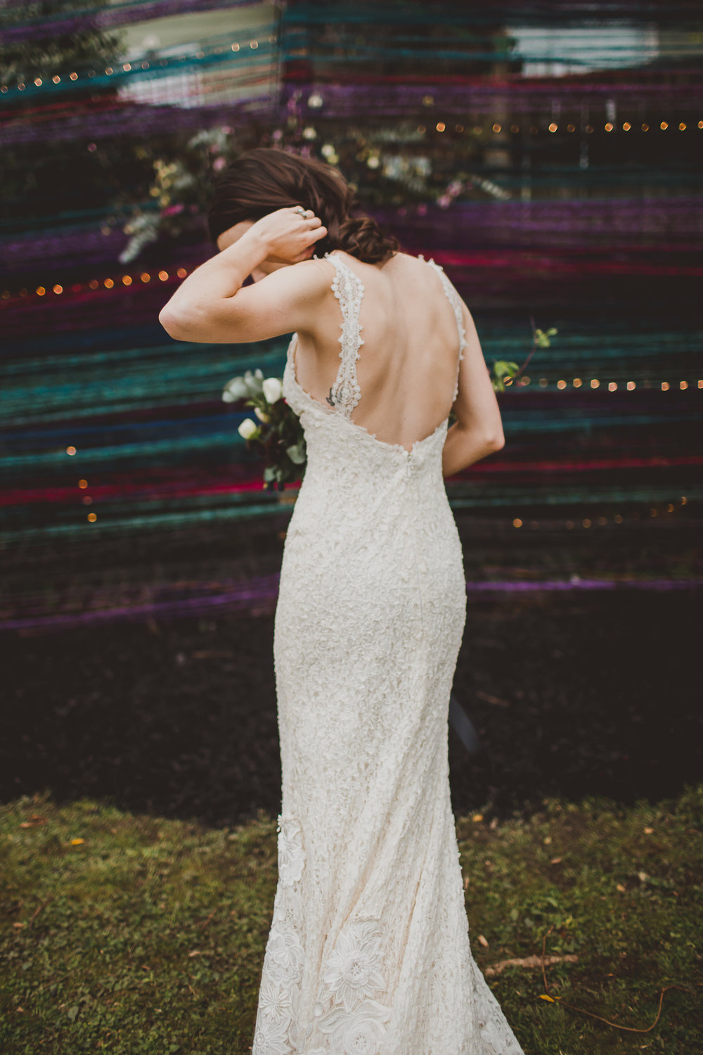 Intimate Backyard Wedding in Cabbagetown - Annie and Chris