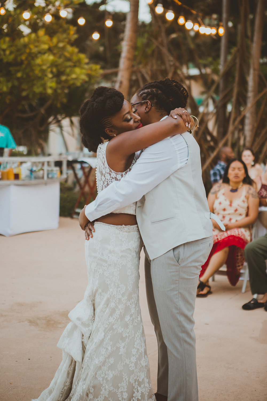 San Juan, Puerto Rico Destination Beach Wedding - DJ and Dorian