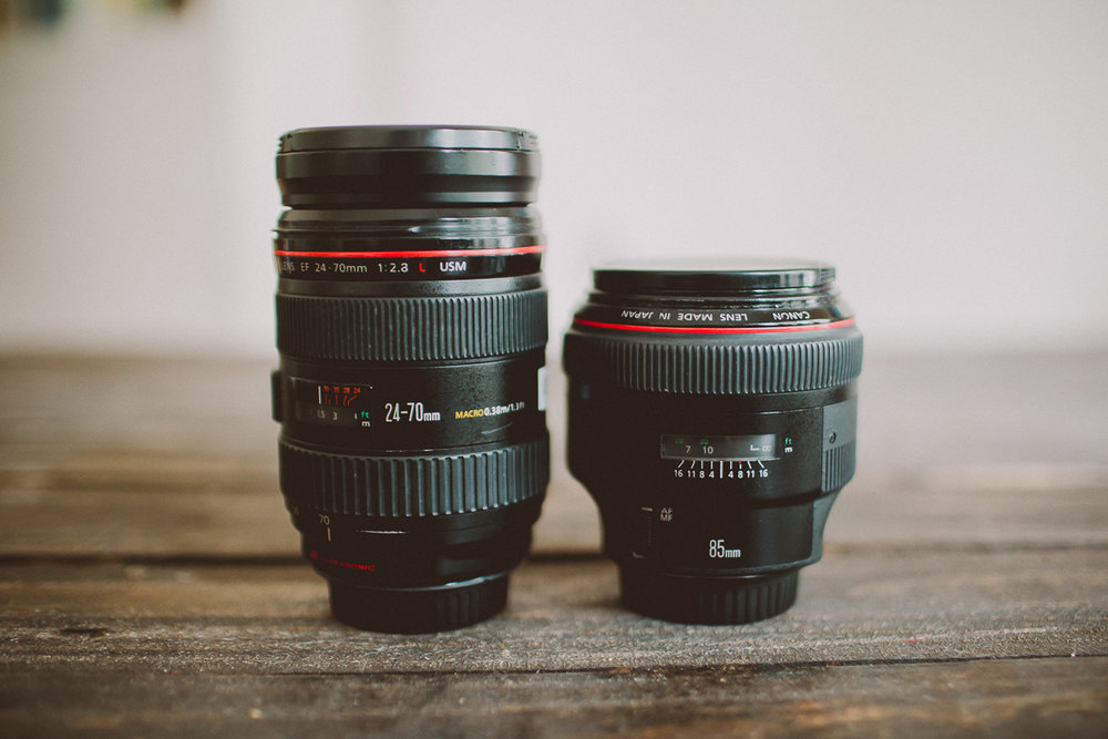 Help! What lenses should I use to shoot weddings