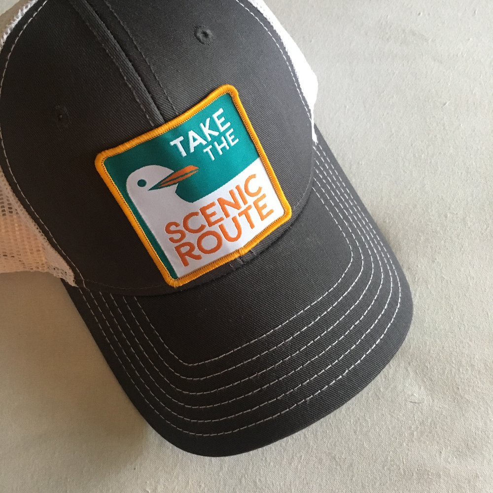 Lookin' good! Time to get out there and rock your sweet new hat.