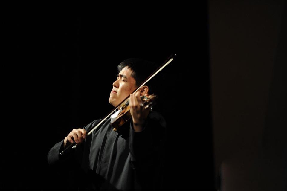 Zenas Hsu, violin