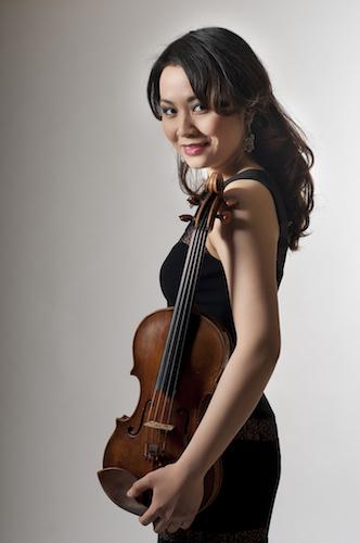 Luosha Fang, violin
