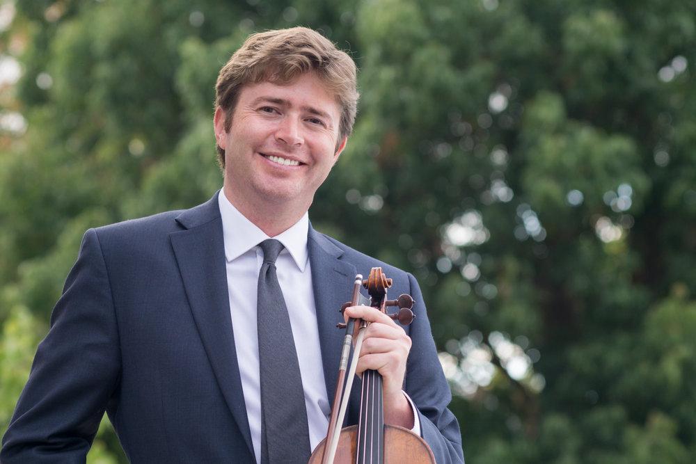 Patrick Dalton-Holmes, violin