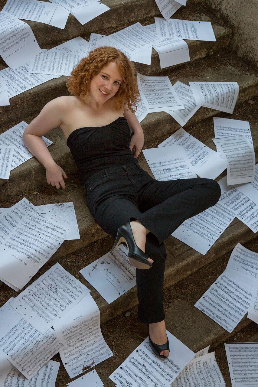 Allegra Chapman, toy piano
