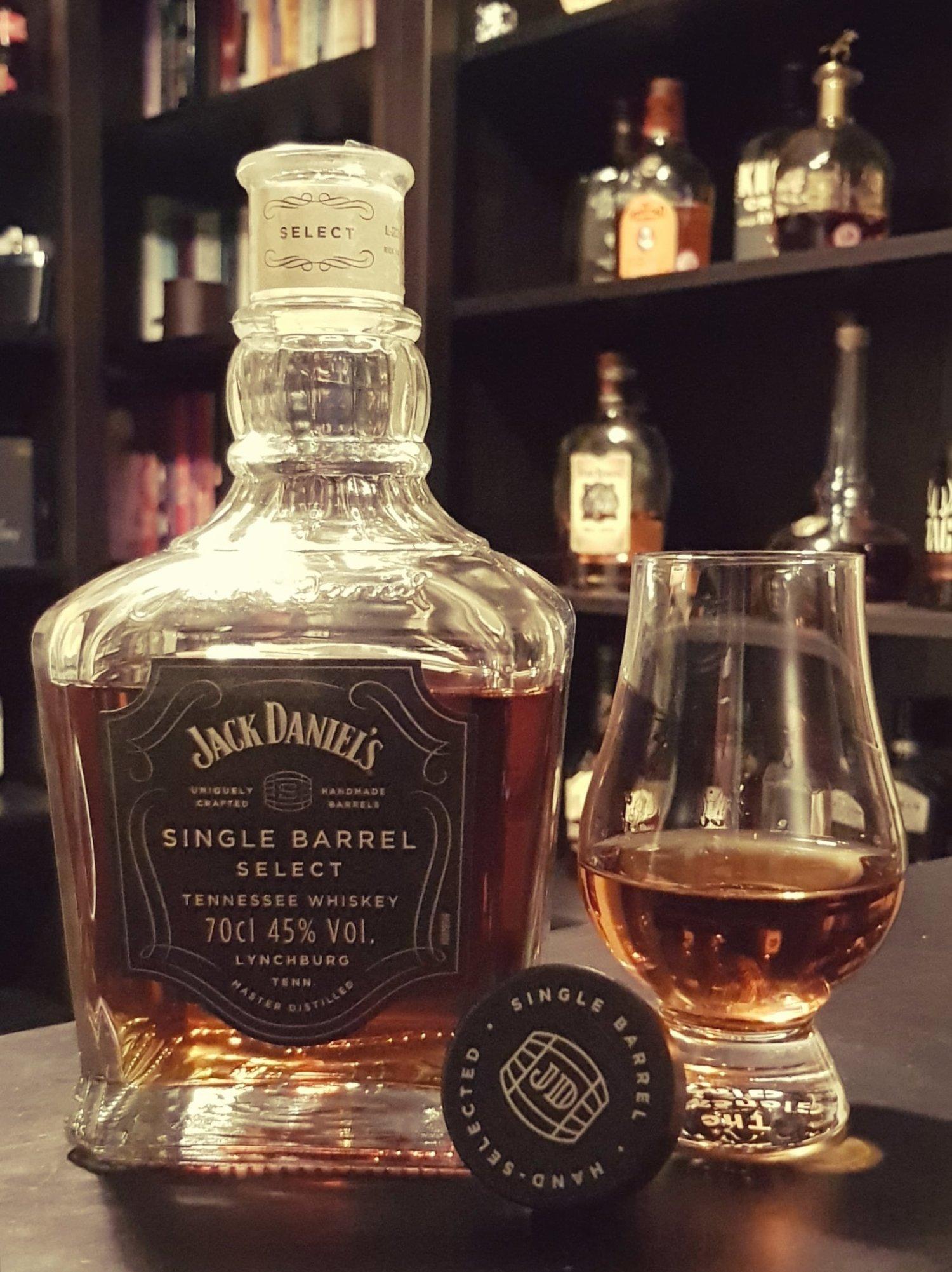 The Jack Daniel\'s Single Barrel Select review — bourbon gents