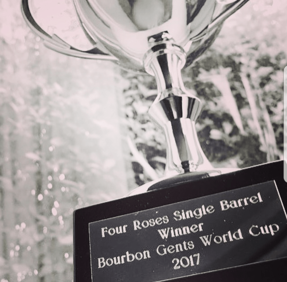 Which of the bourbons below will have their name engraved on the 2018 trophy?