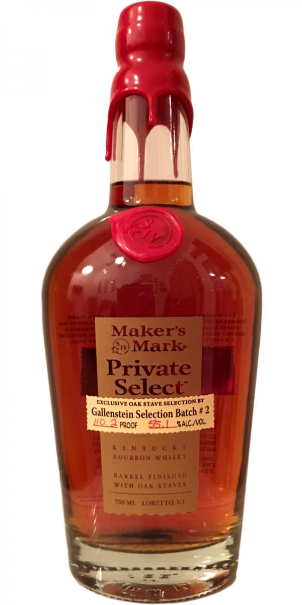 Number 2 - Maker's Mark Private Select