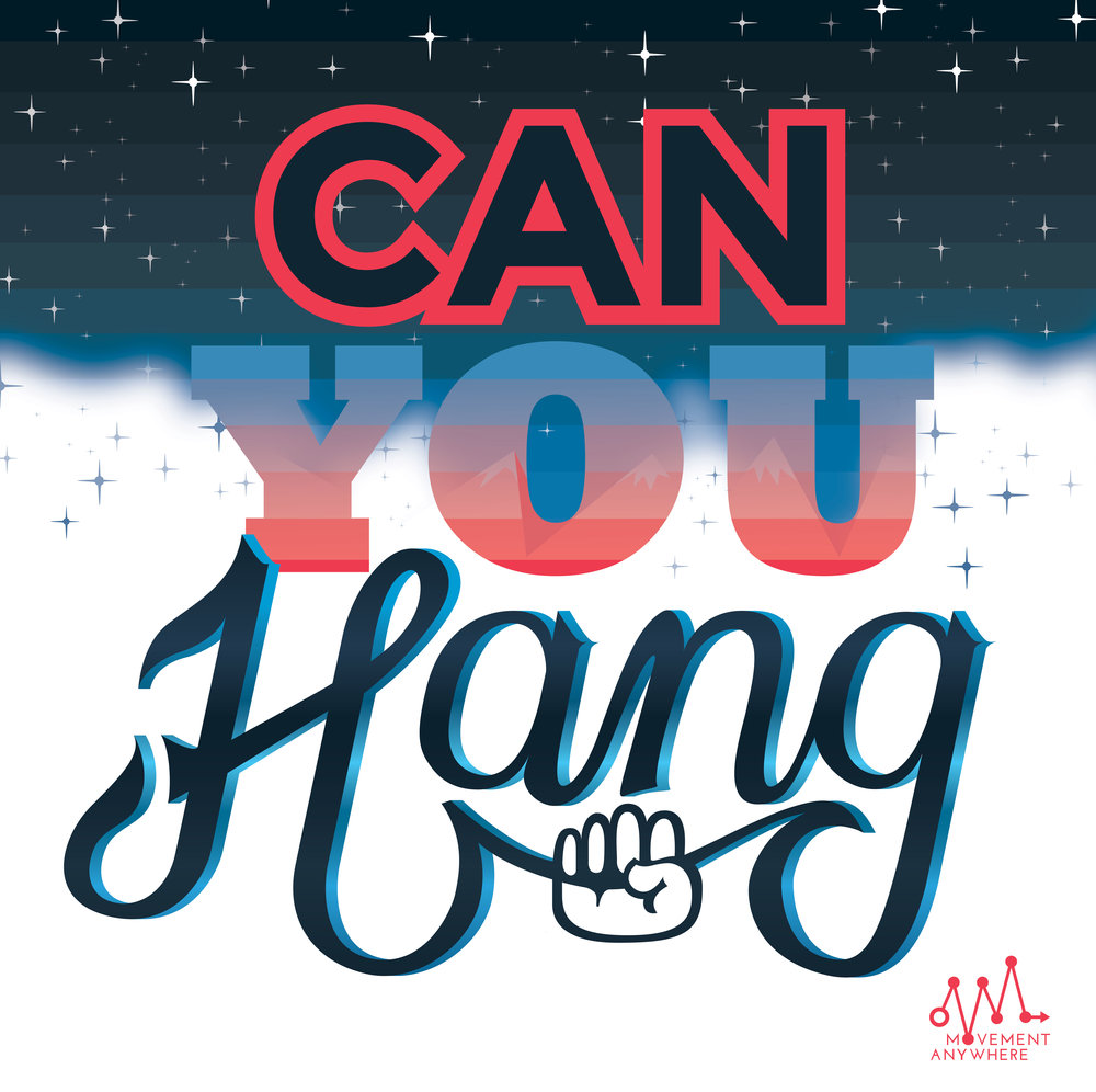 Can You Hang  (detail)  aluminum dibond print  36 in. x 36 in.