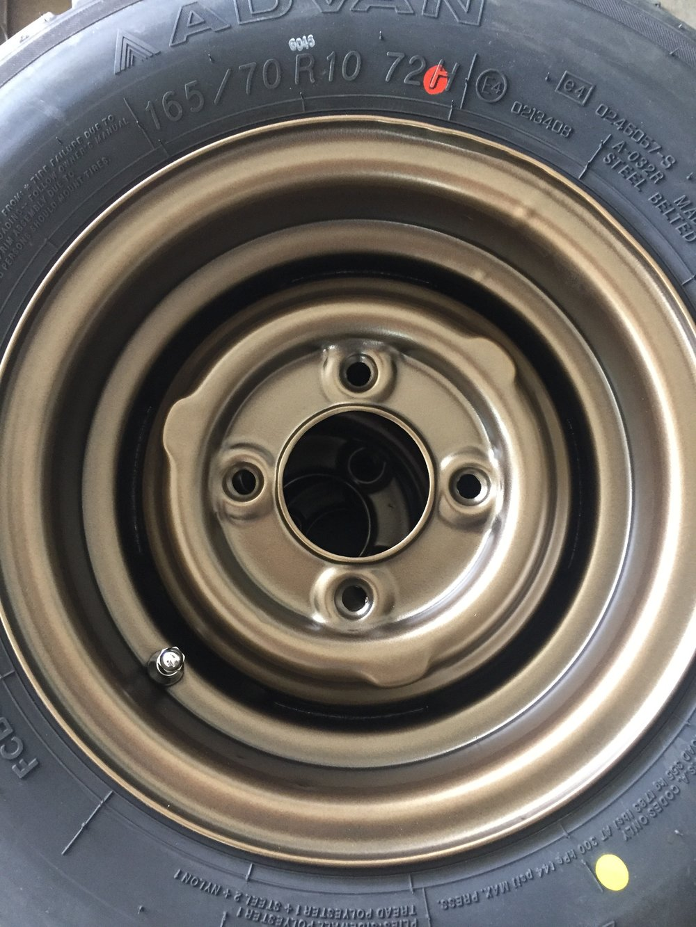 Up Close Wheel