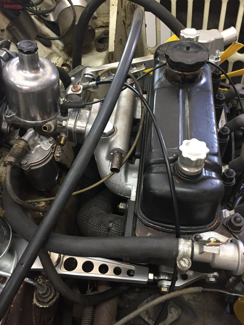 Test Fitting Throttle Cable