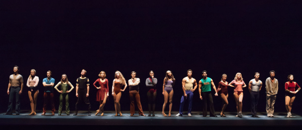 "Connie in ""A Chorus Line"""