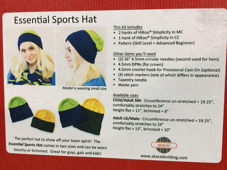 a823c89e2e1 Skacel Essential Sports Hat — The Sock Peddlers