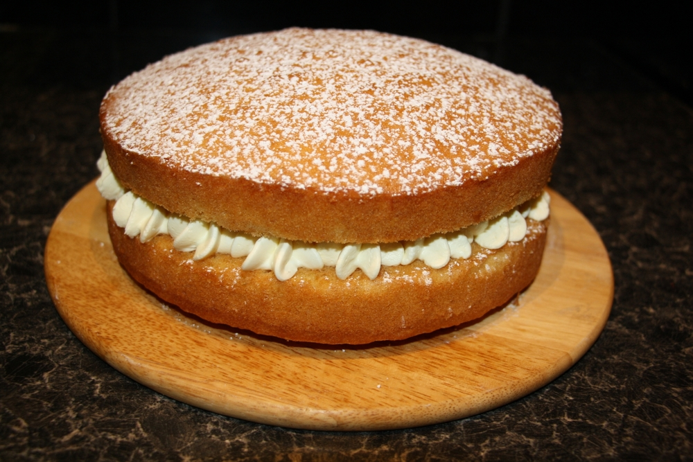 Victoria Sponge Cake Marry Berry The Great British Bake Off