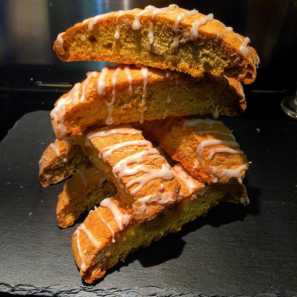 Orange and Hazelnut Biscotti