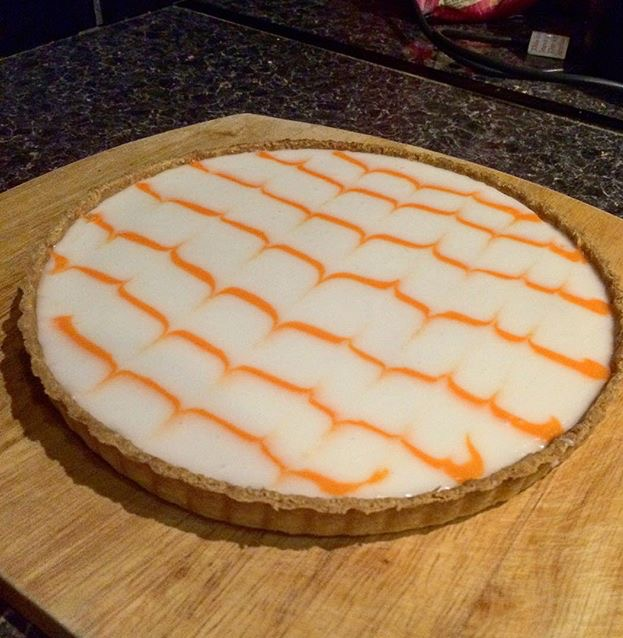 Almond and Clementine Frangipane Tart