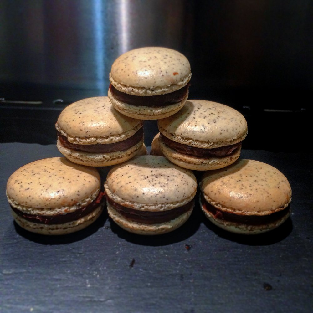 Chai Spiced Macarons Chocolate Orange Ganache