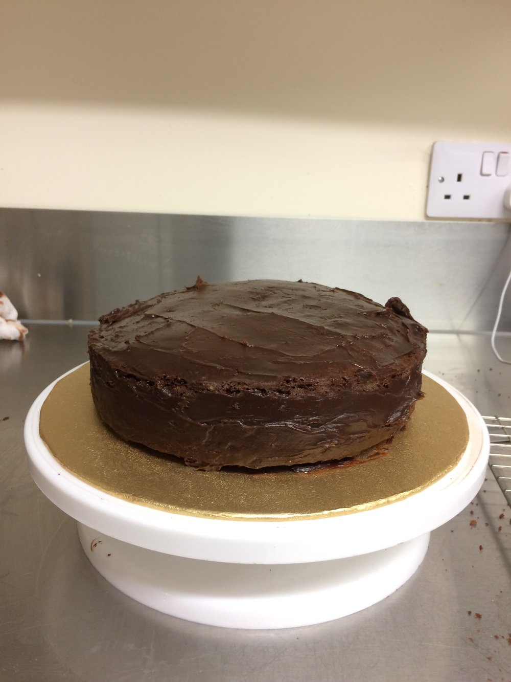 Marshmallow Birthday Cake