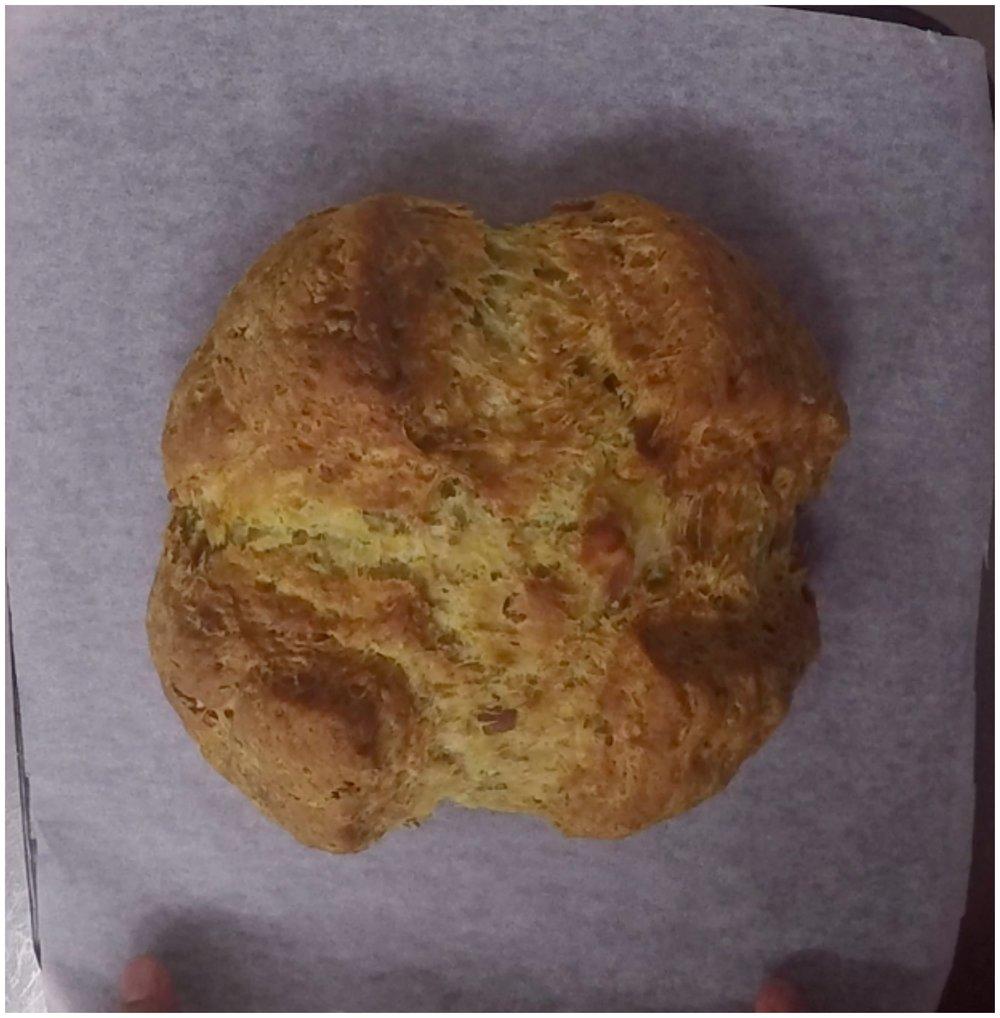 Rosemary, Bacon and Parmesan Cheese Irish Soda Bread