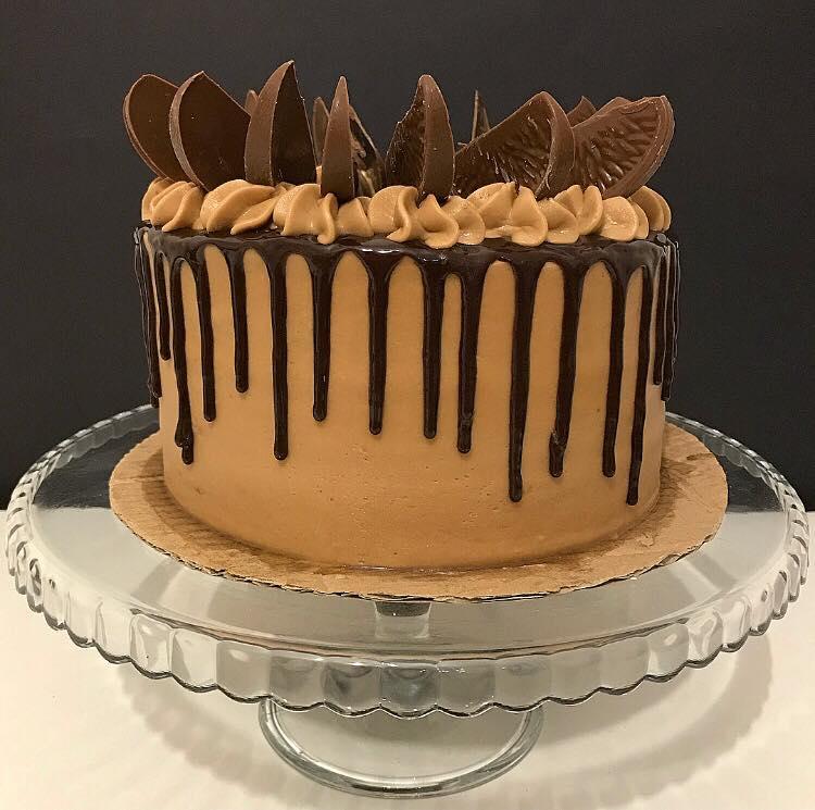 Terry's Chocolate Orange Drip Cake