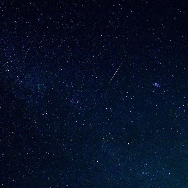 Perseid Meteor Shower 2018 @campjoshuatree 🌌 #perseidmeteorshower #joshuatreestars #darksky