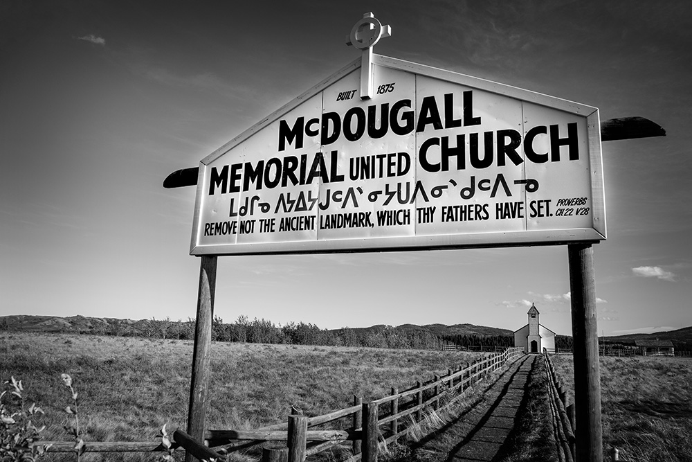 McDougall Indian Church RT 93