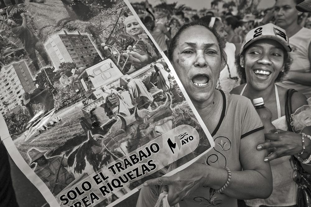 May Day Parade2, Havana, Cuba