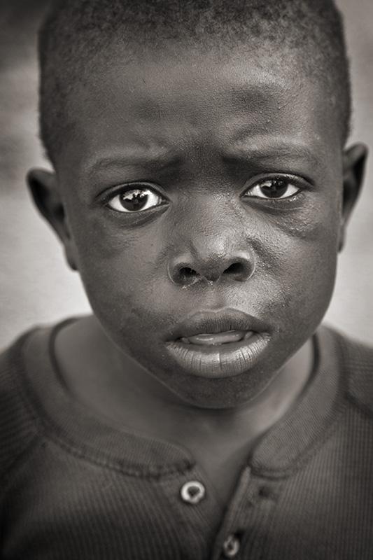 Haitian Boy, Milot, Haiti