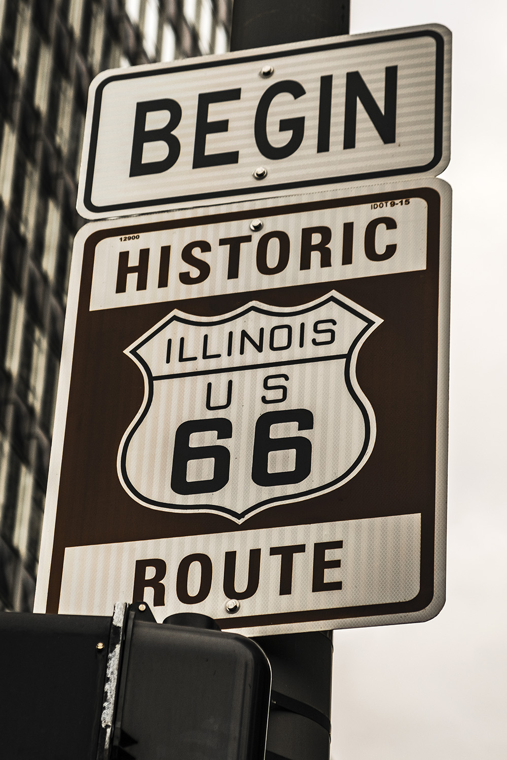 Begin RT66, Chicago, Il