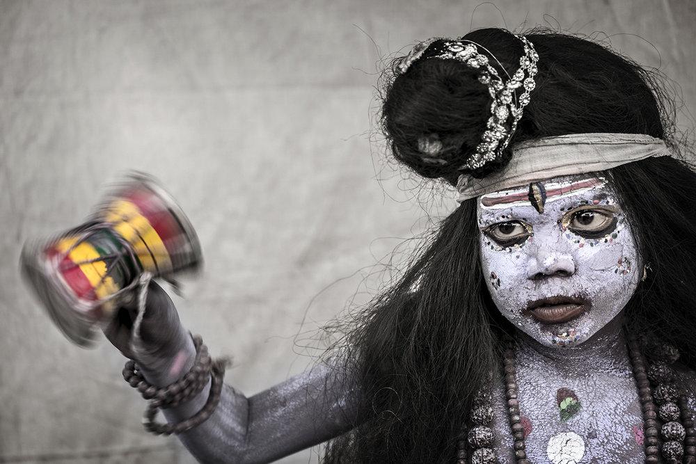 Painted Boy, Pushkar, India