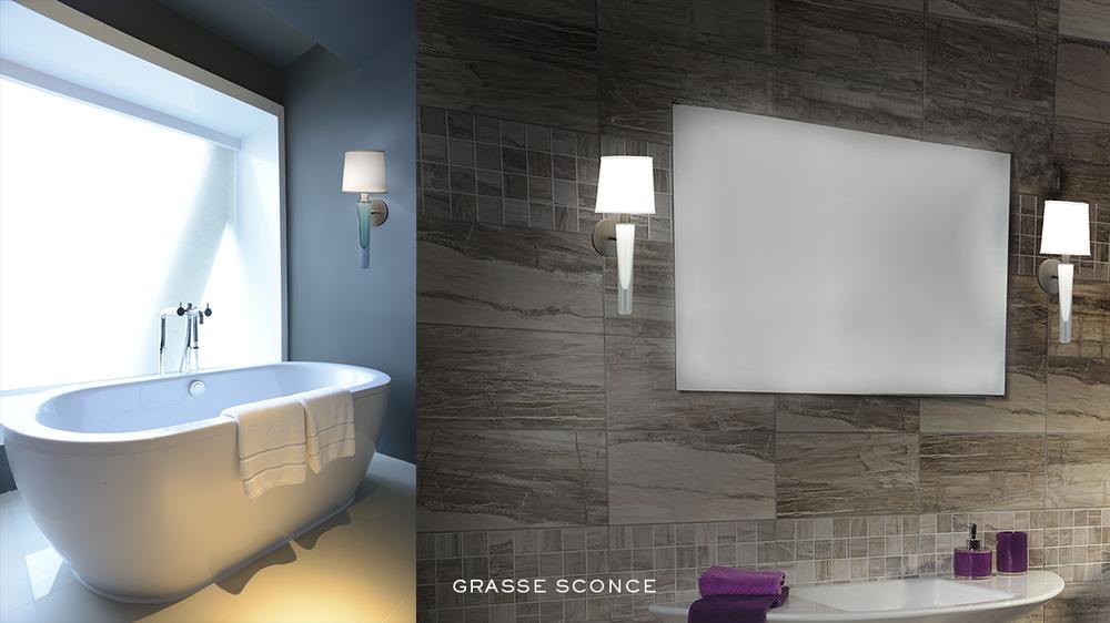 Grasse Sconce by Jamie Drake