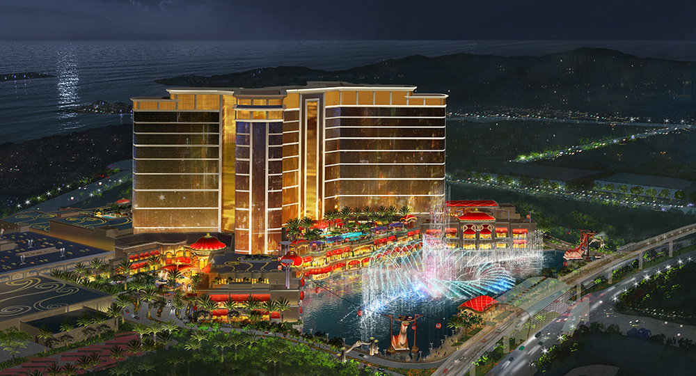 Cotai's Wynn Palace will feature over 3,000 Boyd Lighting fixtures.