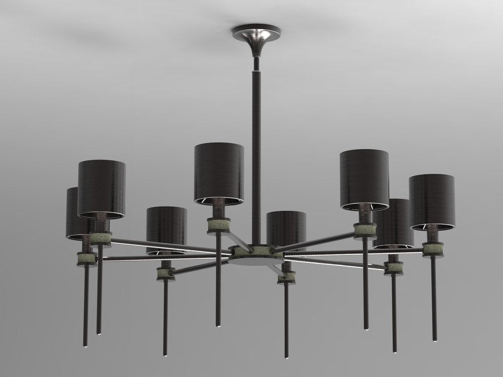 Topanga I Chandelier by Boyd Lighting