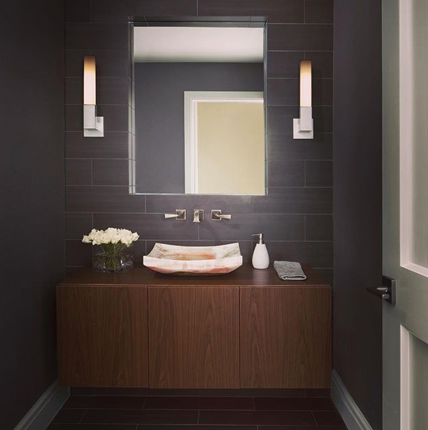 Linea bathroom sconce by Boyd Lighting