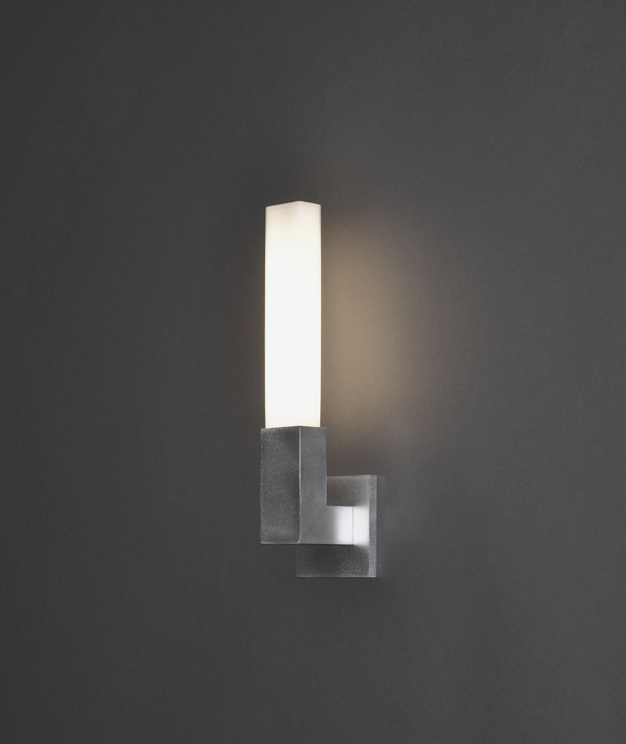 Linea bathroom scone by Boyd Lighting