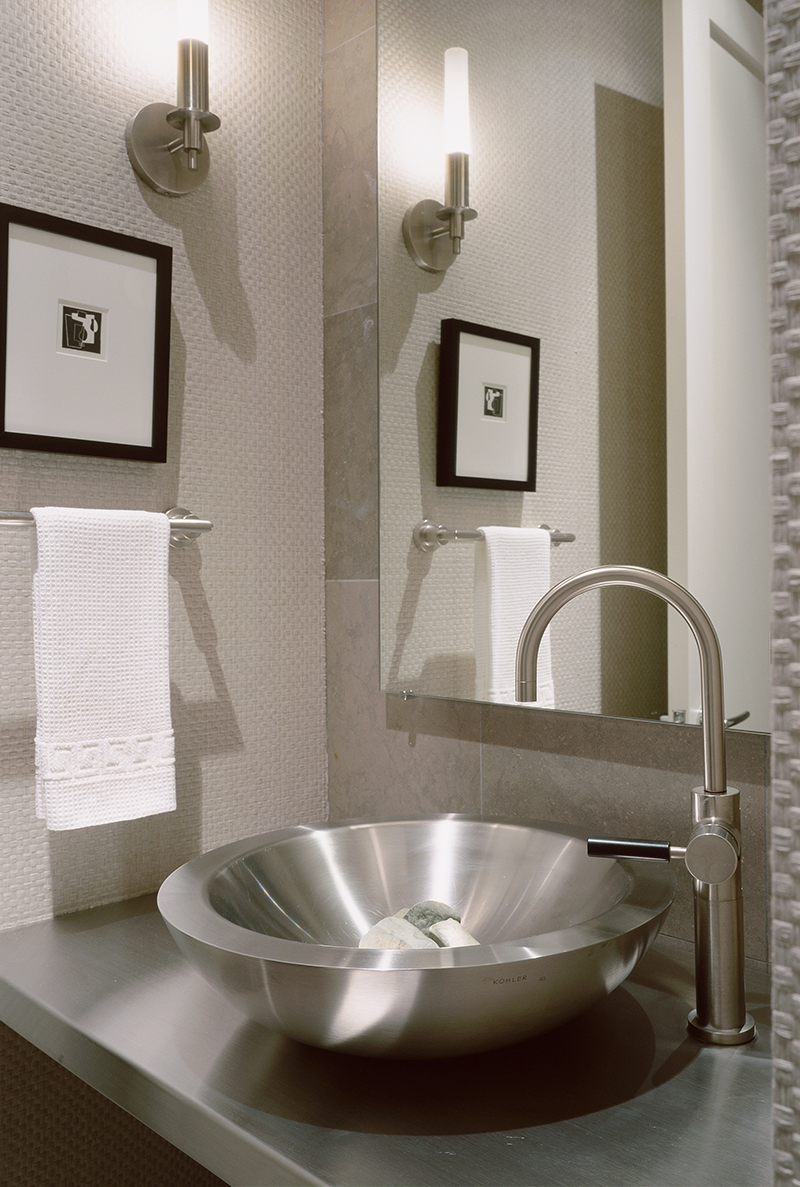 Mercury bathroom sconce by Boyd Lighting