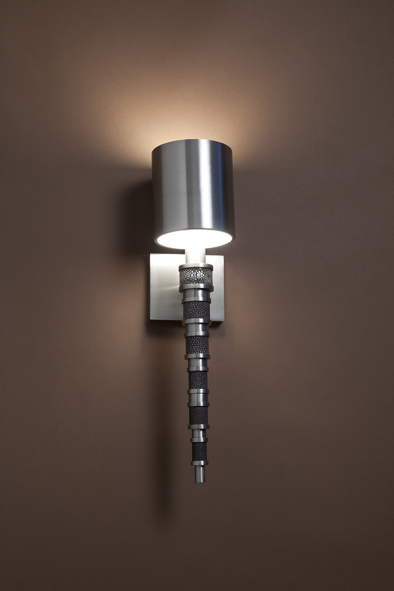 Topanga II bathroom sconce by Boyd Lighting
