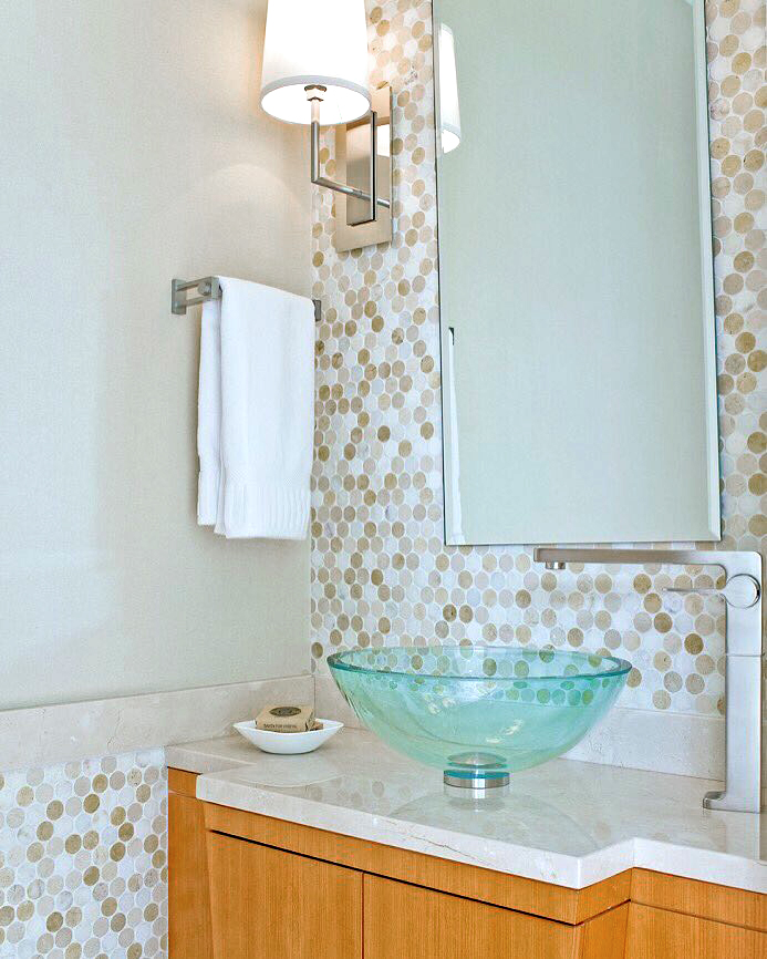 Belmont bathroom sconce by Boyd Lighting