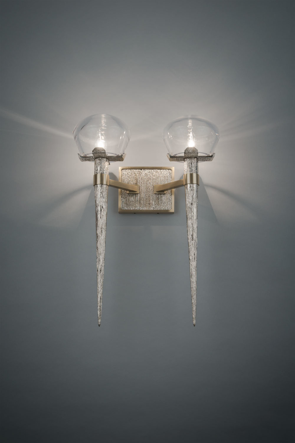 Comet Sconce Double by HTK Design for Boyd Lighting