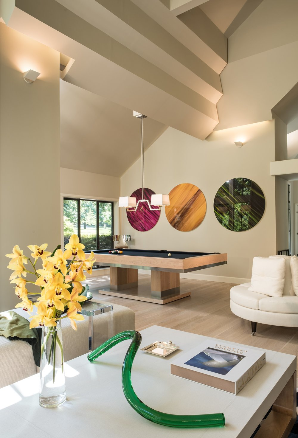 SOLEIL DEMI GRANDE PENDANT . Christopher Murphy Designs  |  Photo: Nathan Harmon