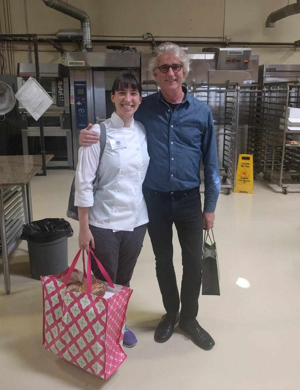 Getting to meet the founder of the San Francisco Baking Institute, Michel Suas ( swoon)