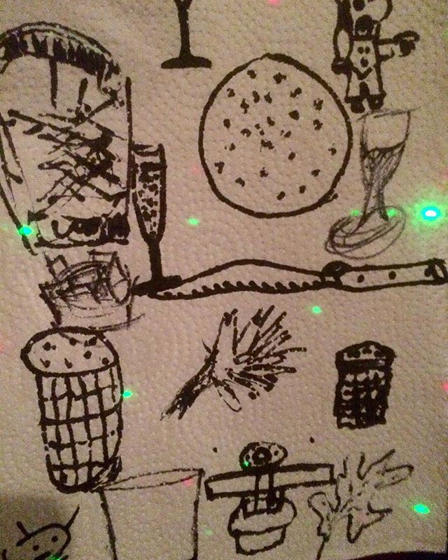 #thanksgiving #Napkin #pass #around #drawing #table #objects #old #surreal #trick #still #alive #friends #food #art #marker #thankful for #rayraym #barrykostrinskyphotography havensbx.com