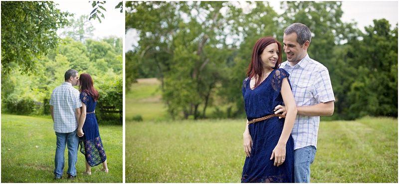 Carroll County Farm | Carroll County MD Engagement Portraits by Katie Vee Photography